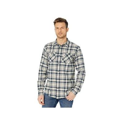 ティンバーランド Woodfort Flex Flannel Work Shirt メンズ シャツ トップス Total Eclipse Littleton Plaid