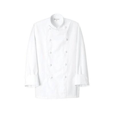 コックコート(男女兼用)L ホワイト AA490-0