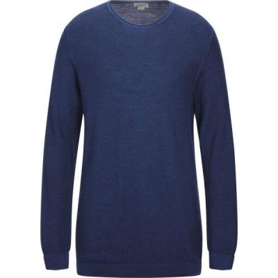 セブンティ SEVENTY SERGIO TEGON メンズ ニット・セーター トップス Sweater Blue