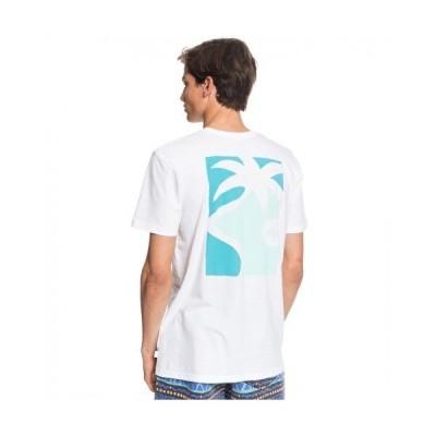 tシャツ Tシャツ MORNING BIRD SS/クイックシルバー Tシャツ 半袖 バックプリント