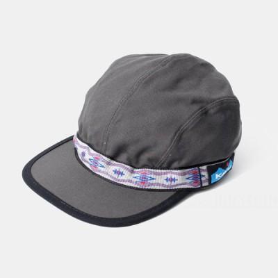 カブ— KAVU 帽子 キャップ アジャスター付き Strapcap MADE in USA 110-93-2