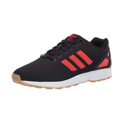 adidas Originals Men's ZX Flux Sneaker, core Black/red/FTWR White, 5 M US