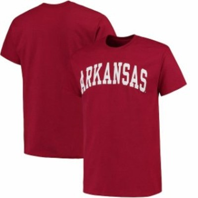 Fanatics Branded ファナティクス ブランド スポーツ用品  Arkansas Razorbacks Cardinal Basic Arch T-Shirt