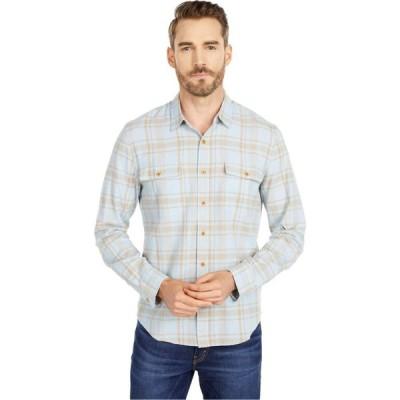 ラッキーブランド Lucky Brand メンズ シャツ トップス Long Sleeve Humboldt Workwear Shirt Blue Plaid