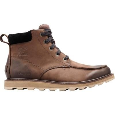 ソレル SOREL メンズ ブーツ シューズ・靴 Madson Moc Toe Waterproof Casual Boots Dark Brown