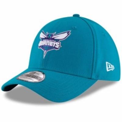 New Era ニュー エラ スポーツ用品  New Era Charlotte Hornets Teal Team Classic 39THIRTY Flex Hat