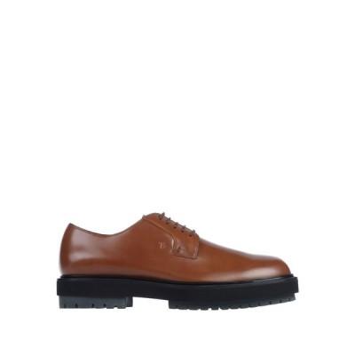 トッズ TOD'S メンズ シューズ・靴 laced shoes Brown
