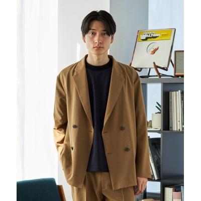 UNITED TOKYO / UOMO別注ダブルリネンジャケット MEN ジャケット/アウター > テーラードジャケット