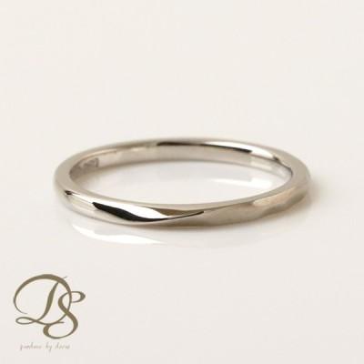 PT950 プラチナ リング ひねり(S) ツイスト レディース 結婚指輪 プラチナリング ペア ジュエリー ペアアクセサリー