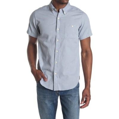 イズキール メンズ シャツ トップス West Short Sleeve Shirt LTBL