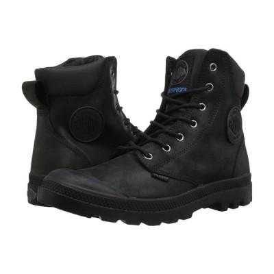 パラディウム Palladium レディース ブーツ シューズ・靴 Pampa Cuff WP Lux Black/Black