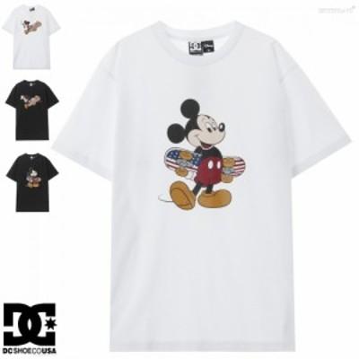 Tシャツ メンズ レディース 半袖 DCシューズ 20 DISNEY MICKEY ORG SS ディズニー レギュラーシルエット 到着後1か月以内にレビューを書