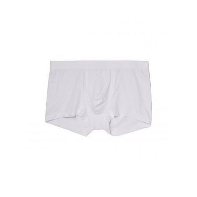 Hanro ハンロ メンズ 男性用 ファッション 下着 Micro Touch Boxer Brief - White