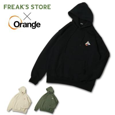 Orange×FREAK'S STORE オレンジ×フリークスストア 焚火ベアP/K 03130 【パーカー/コラボ/トップス/アウトドア】