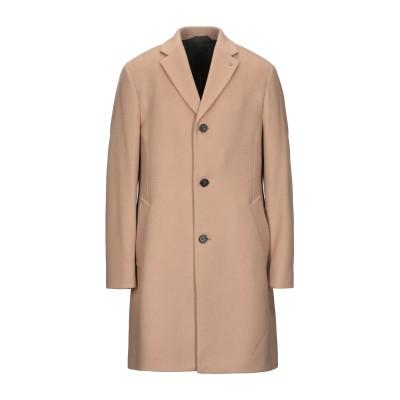 カルバン クライン CALVIN KLEIN コート キャメル 44 バージンウール 85% / カシミヤ 15% コート