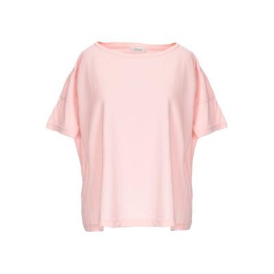 CROSSLEY T シャツ ピンク S コットン 100% T シャツ