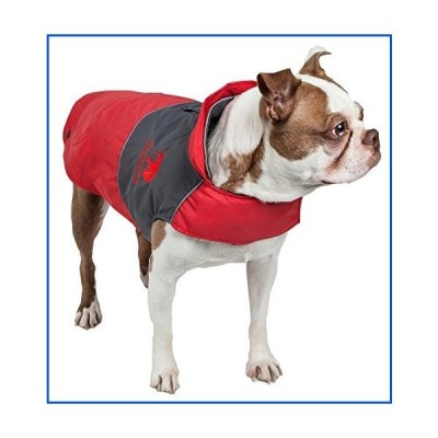 【新品】TOUCHDOG 'Lightening-Shield' Waterproof 2-in-1 with Removable Polar Fleece Lining Pet Dog Coat Jacket w/ Blackshark Technology,