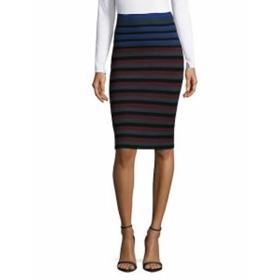 ロニーコボ レディース スカート Stripe Pencil Skirt