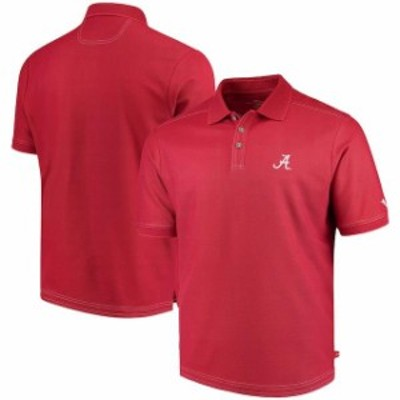 Tommy Bahama トミー バハマ スポーツ用品  Tommy Bahama Alabama Crimson Tide Crimson The Emfielder Polo