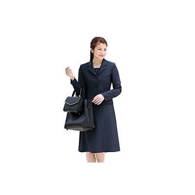 (ニナーズ) nina's お受験スーツ レディース 紺 濃紺 ウール ワンピース 母 大きいサイズ お受験 ママ NK-1002WL