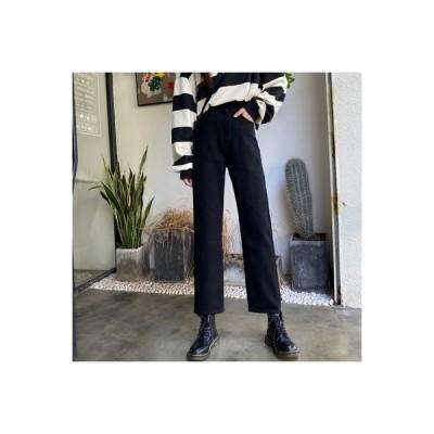 【送料無料】レディース 秋 韓国風 ファッション ハイウエスト 着やせ ルース ストレー | 364331_A63627-8458900