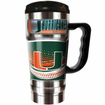 Great American Products ゲット アメリカン プロダクツ スポーツ用品  Miami Hurricanes Silver The Champ 20 oz. T