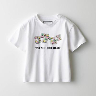 【キッズ】ナンバーチョコTシャツ(チーリン製菓コラボ)