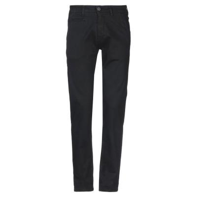 LIU •JO MAN パンツ ブラック 48 コットン 97% / ポリウレタン 3% パンツ