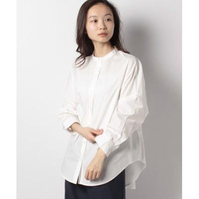 ペーパータッチバンドカラーシャツ 1710073-21-18-11