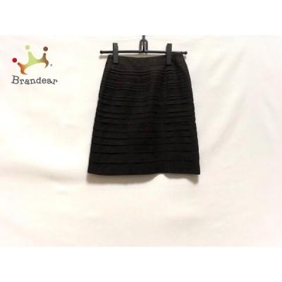 ニジュウサンク 23区 スカート サイズ30 XS レディース 美品 ダークブラウン     スペシャル特価 20200510