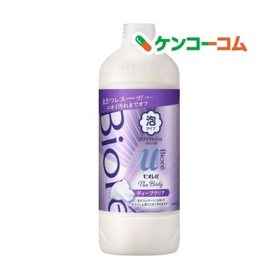 ビオレu ザ ボディThe Body 泡タイプ ディープクリア つめかえ用 ( 450ml )/ ビオレU(ビオレユー)