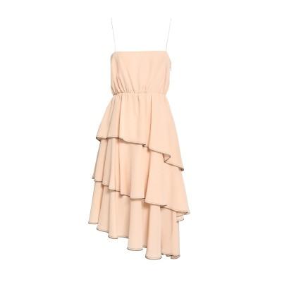ソニア リキエル SONIA RYKIEL ミニワンピース&ドレス ライトピンク 38 シルク 100% ミニワンピース&ドレス