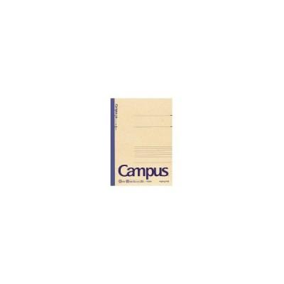 コクヨ (ノ-E3BN) 再生紙キャンパスノート(中横罫) 6号(セミB5) 罫幅6mm30枚