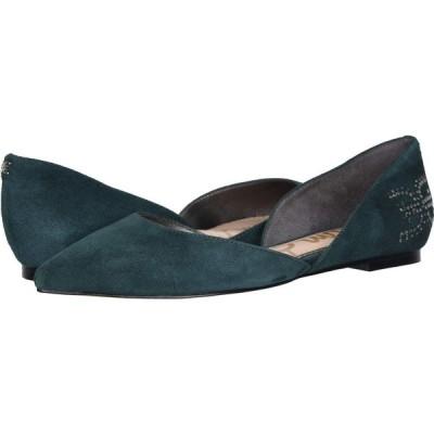 サム エデルマン Sam Edelman レディース スリッポン・フラット シューズ・靴 Zappos 20th x Rodney Jasmine Green Suede Leather