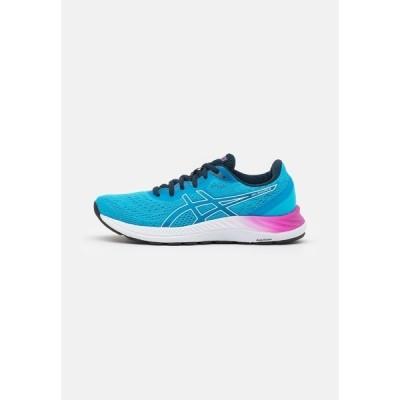 アシックス シューズ レディース ランニング GEL EXCITE 8 - Neutral running shoes - digital aqua/white