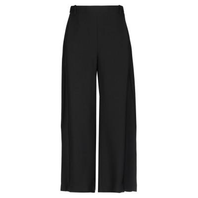 ROQUE ILARIA NISTRI パンツ ブラック 44 レーヨン 100% パンツ