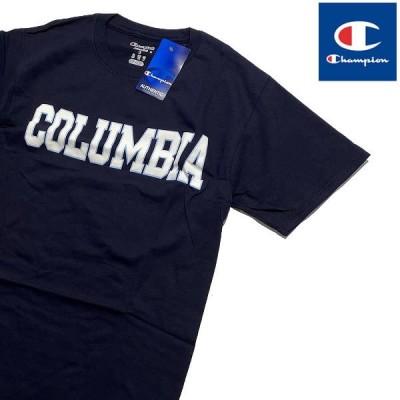 Columbia University CHAMPION JERSEY TEE チャンピオン コロンビア大学ロゴ Tシャツ 【9270748216-navy】