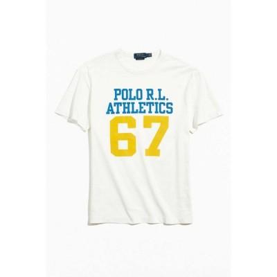 ラルフ ローレン Polo Ralph Lauren メンズ Tシャツ トップス Athletics Tee White