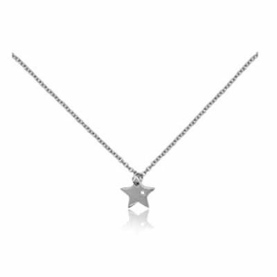 """besparkd Falling Star Silver Tone Charm w/ 16-18"""" Steel Necklace Gift Ready Envelope Card Pewter Adjustable Chain Loop Clasp Kid"""