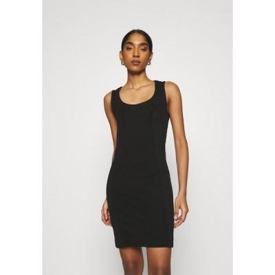 ディーゼル ワンピース レディース トップス D-REKI - Jersey dress - black