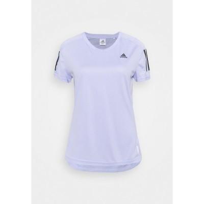 アディダス シャツ レディース トップス OWN THE RUN TEE - Print T-shirt - violet tone
