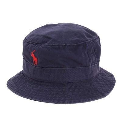 ポロ ラルフ ローレン帽子LOFT COTTON バケットハット MAPOHGS0J420378410ネイビー