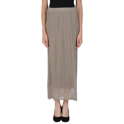 ALMERIA ロングスカート ドーブグレー M コットン 64% / ナイロン 36% ロングスカート