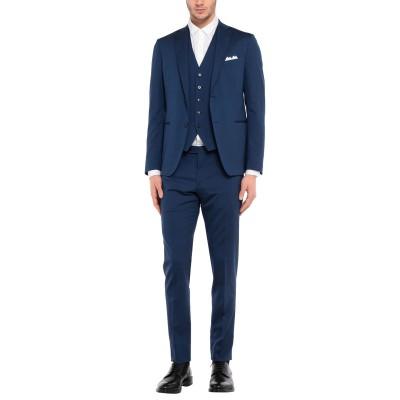 CANTARELLI per ERALDO スーツ ブルー 54 バージンウール 98% / ポリウレタン® 2% スーツ