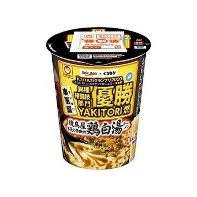 マルちゃん 本気盛 焼鳥屋本気の禁断の鶏白湯ラーメン 107g ×12個