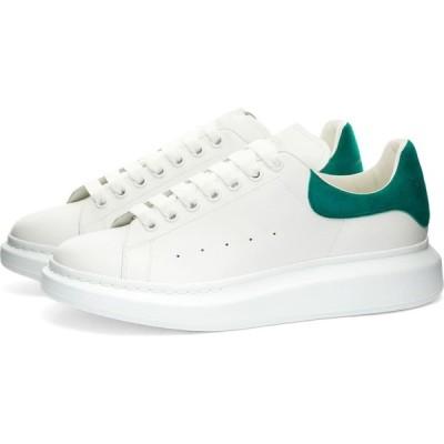アレキサンダー マックイーン Alexander McQueen メンズ スニーカー ウェッジソール シューズ・靴 heel tab wedge sole sneaker White/Aruba Blue