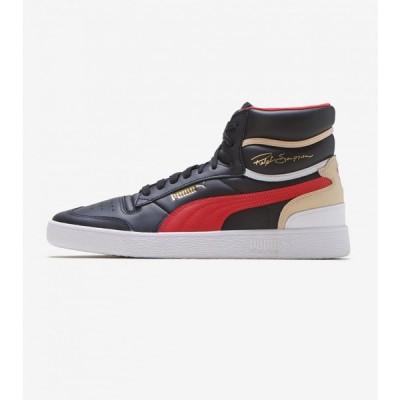 プーマ Puma メンズ スニーカー シューズ・靴 Ralph Sampson Mid Black/Red/White