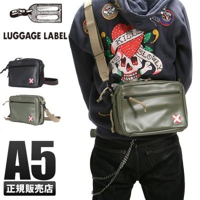 吉田カバン ラゲッジレーベル ライナー ショルダーバッグ メンズ レディース 赤バッテン A5 LUGGAGE LABEL 951-09241
