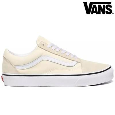 ヴァンズ スニーカー VANS OLD SKOOL CLASSIC WHITE/TRUE WHITE 正規取扱店 シューズ オールドスクール バンズ