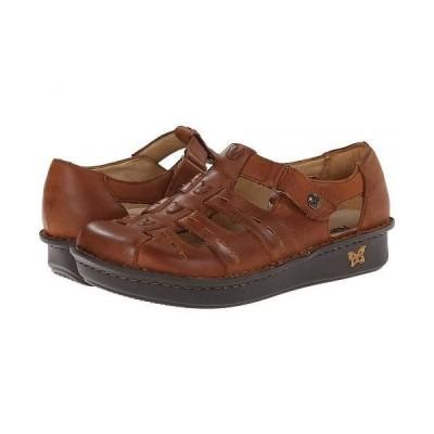 Alegria アレグリア レディース 女性用 シューズ 靴 クロッグ ミュール Pesca - Tawny